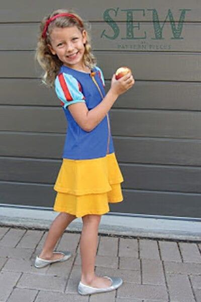 Girls Fun Tee Skip Skirt Hack