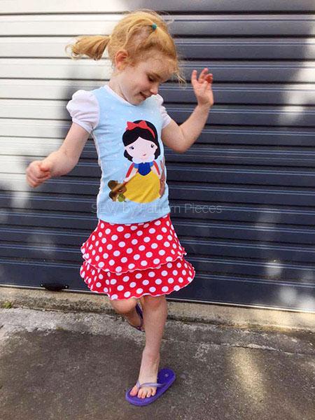 Skip Skirt and Fun Tee