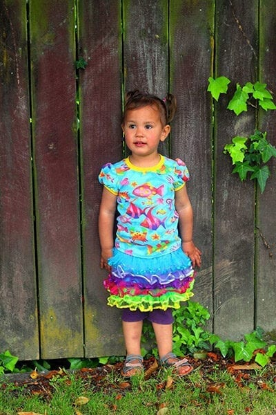 Girls Fun Tee PDF Pattern