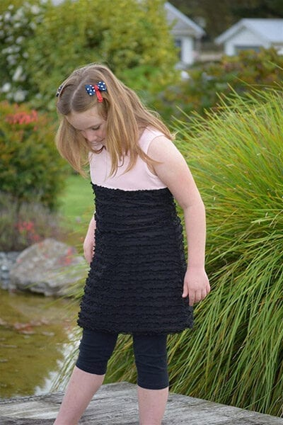 23100 Girls Sport Dress PDF Pattern