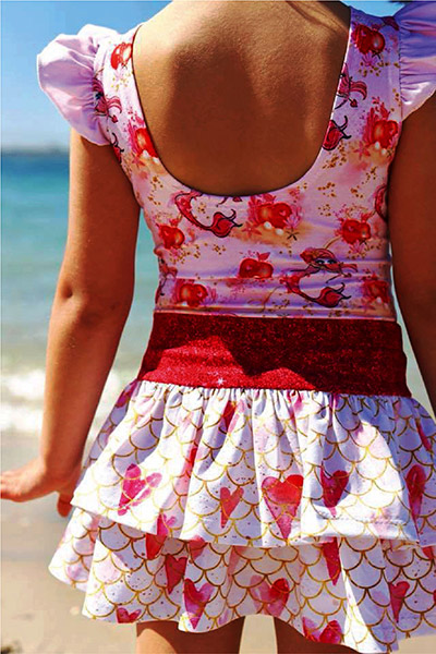 Girls Skip Skirt PDF Pattern