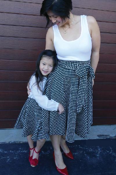 Glamour Swirl Skirt