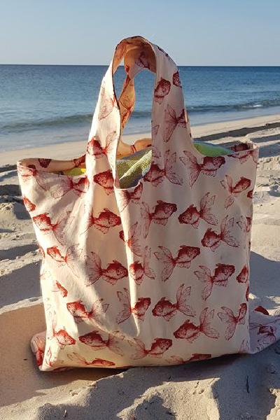 Jenny Tote Bag PDF Pattern